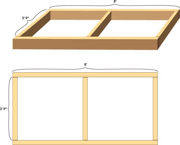Woodwork build wood platform pdf plans for How to build a wood platform