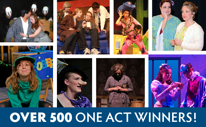 Over 500 one act winners