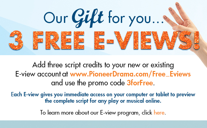 Our gift to you...  3 free E-views!