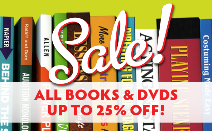All texts and DVDs on sale now!