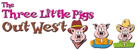 The Three Little Pigs out West
