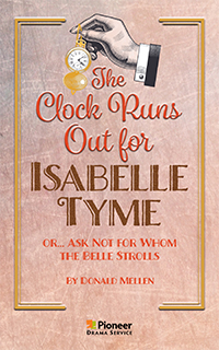 Cover for The Clock Runs Out for Isabelle Tyme