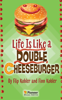 Cover for Life Is Like a Double Cheeseburger