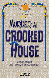 Cover for Murder at Crooked House