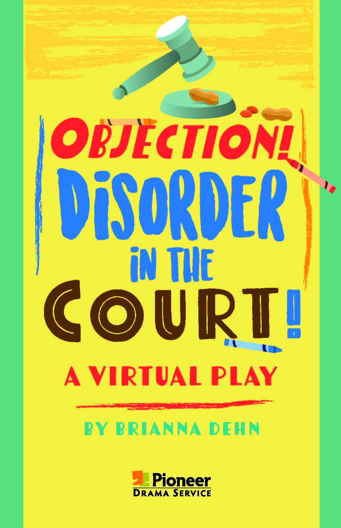 Cover for Objection! Disorder in the Court!