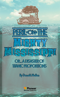 Cover for Peril on the Mighty Mississippi