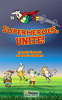 Cover for Superheroes Unite!