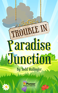 Cover for Trouble in Paradise Junction