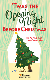 Cover for 'Twas the Opening Night Before Christmas