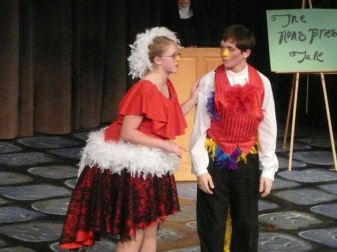 Canterbury Tales Theatre Adaptation Playscript Comedy