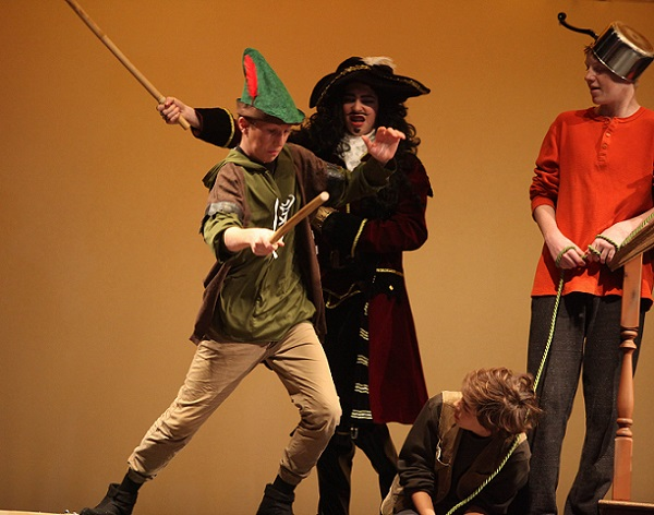 Peter Pan-A play adapted from the novel by J M  Barrie