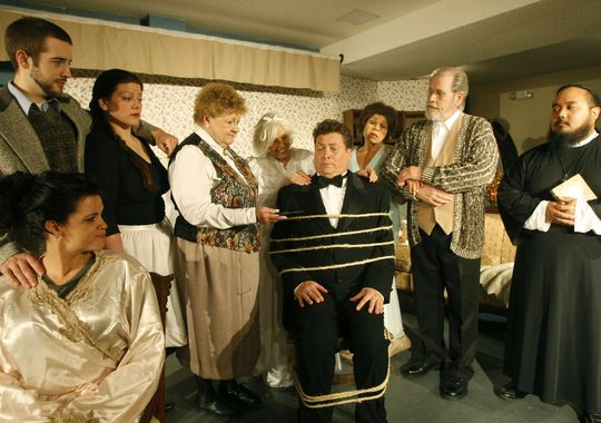 Image result for scenes from community play the butler did it