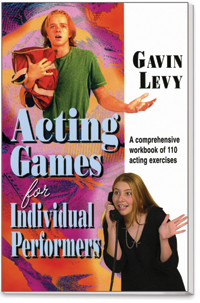 Cover for Acting Games for Individual Performers