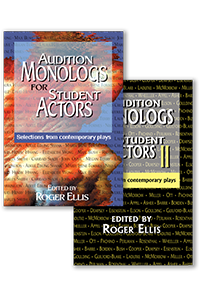 Cover for Audition Monologs for Student Actors