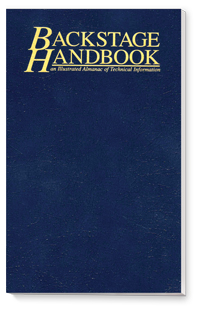 Cover for Backstage Handbook (3rd ed.)