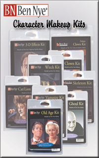 Cover for Ben Nye Character Makeup Kits