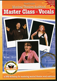 Cover for Musical Theatre Audition Master Class in Vocals