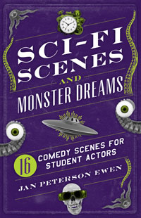 Cover for Sci-Fi Scenes and Monster Dreams