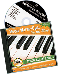 Cover for Vocal Warm-Ups: Middle School Edition
