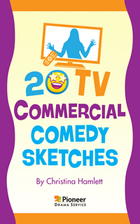 Cover for 20 TV Commercial Comedy Sketches
