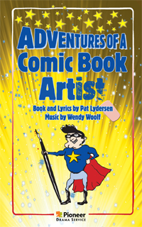 Cover for Adventures of a Comic Book Artist
