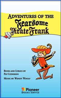 Cover for Adventures of the Fearsome Pirate Frank