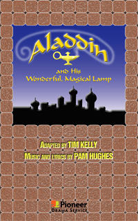 Cover for Aladdin and His Wonderful, Magical Lamp