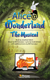 Cover for Alice@Wonderland-The Musical