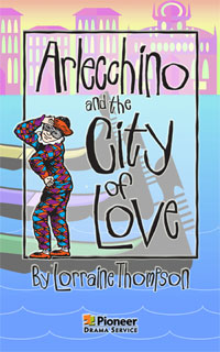 Cover for Arlecchino and the City of Love