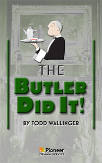 Cover for The Butler Did It!