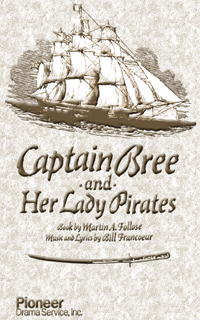 Cover for Captain Bree and Her Lady Pirates