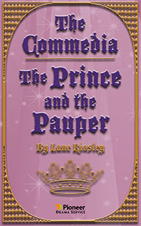 Cover for The Commedia Prince and the Pauper
