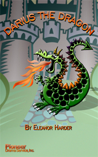 Cover for Darius the Dragon