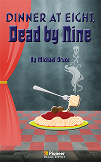 Cover for Dinner at Eight, Dead By Nine