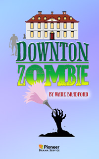 Cover for Downton Zombie