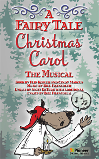 Cover for A Fairy Tale Christmas Carol-The Musical