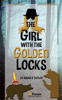 Cover for The Girl with the Golden Locks