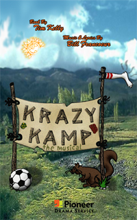 Cover for Krazy Kamp -- The Musical