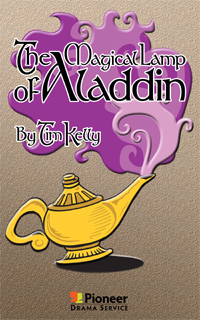 Cover for Magical Lamp of Aladdin