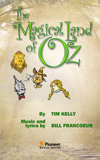 Cover for The Magical Land of Oz