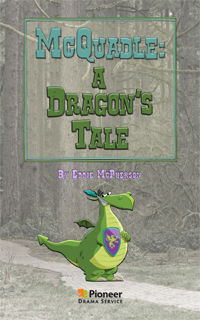 Cover for McQuadle: A Dragon's Tale