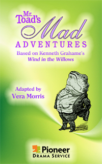 Cover for Mr. Toad's Mad Adventures