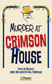 Cover for Murder at Crimson House