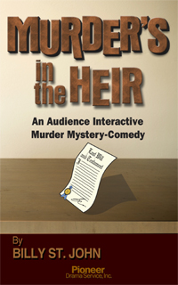 Cover for Murder's in the Heir