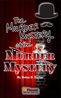 Cover for The Murder Mystery at the Murder Mystery
