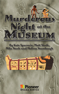 Cover for Murderous Night at the Museum