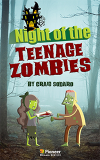Cover for Night of the Teenage Zombies