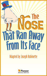 Cover for The Nose That Ran Away from Its Face