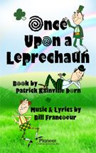Cover for Once Upon a Leprechaun