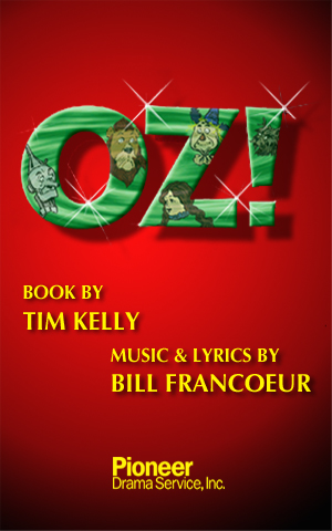 Cover for Oz!